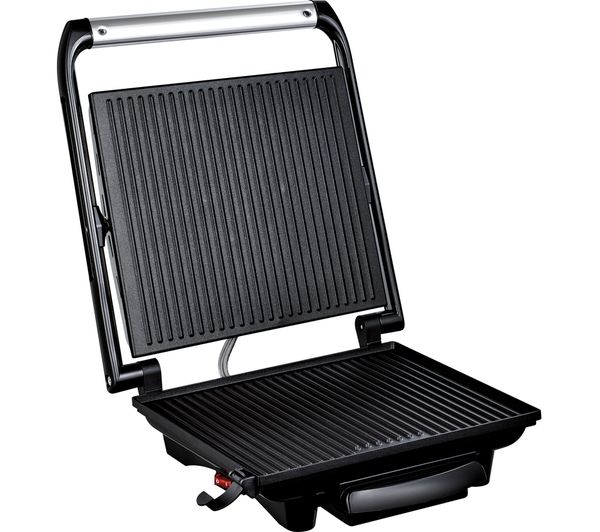 Buy tefal inicio gc241d40 grill silver free delivery currys - Barbecue tefal easy grill ...