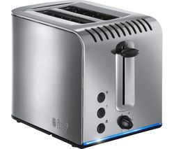 RUSSELL HOBBS Buckingham 20740 2-Slice Toaster - Stainless Steel