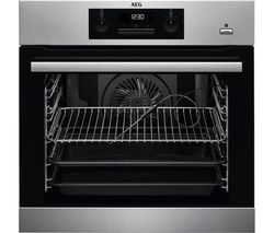 AEG SteamBake BPS352020M Electric Steam Oven - Stainless Steel