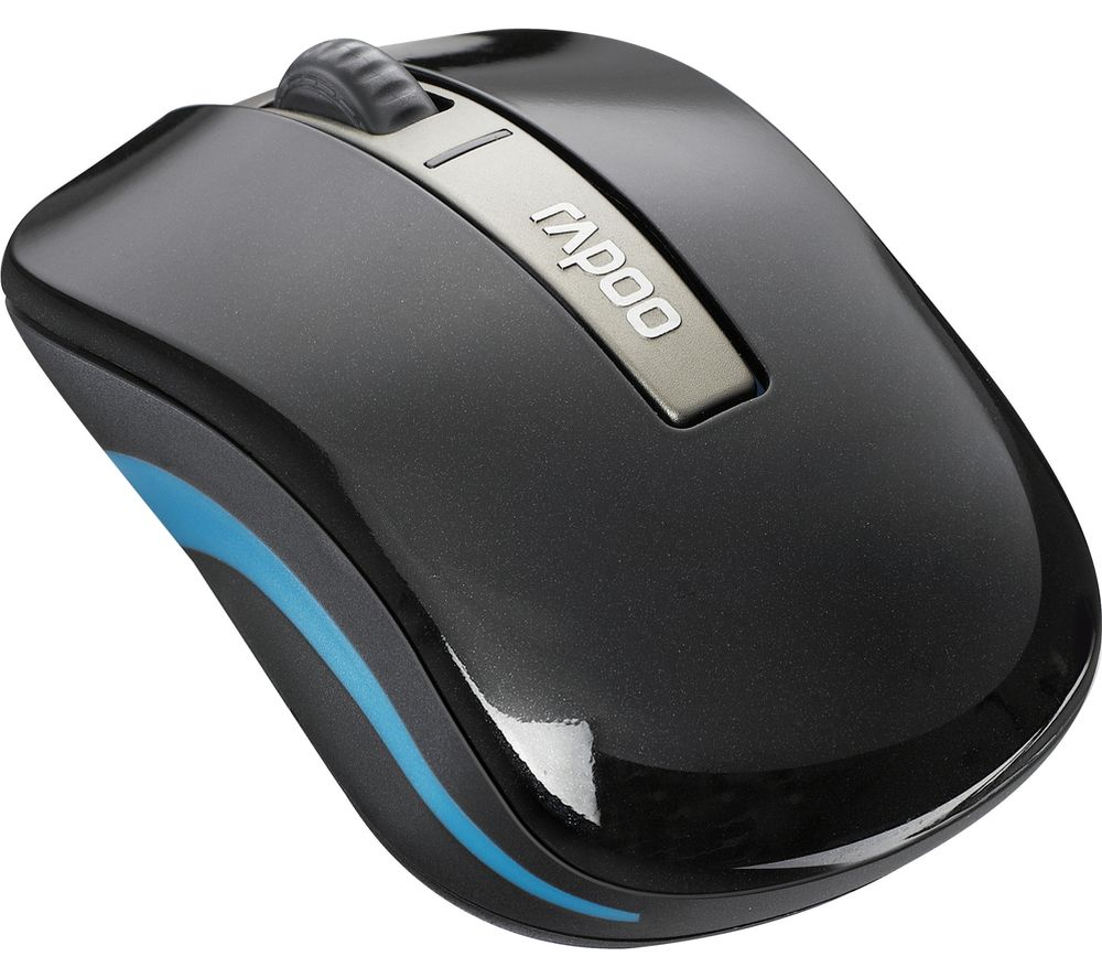 Image of RAPOO 6610 Dual-mode Wireless Optical Mouse, Black
