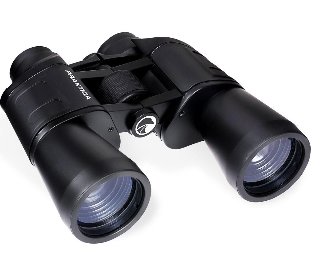 PRAKTICA Falcon 10 x 50 mm Binoculars - Black