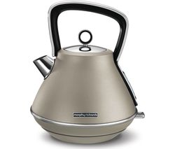 MORPHY RICHARDS Evoke Premium Traditional Kettle - Platinum