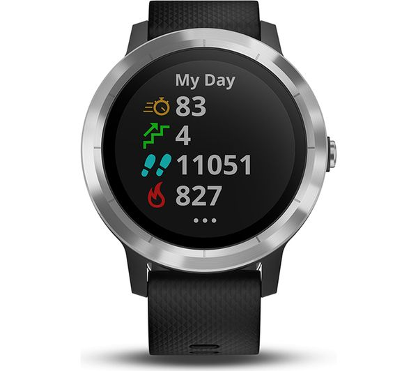 GARMIN vivoactive 3 - Black   Stainless Steel Fast Delivery  907f6412334
