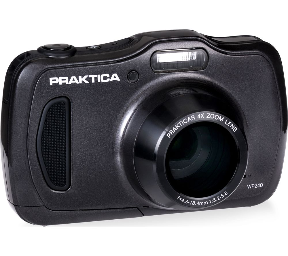 Click to view product details and reviews for Praktica Luxmedia Wp240 Gy Compact Camera Graphite Graphite.