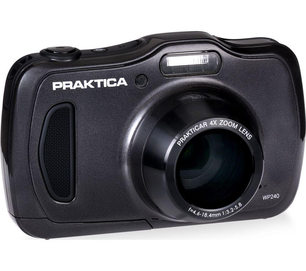 PRAKTICA Luxmedia WP240-GY Compact Camera - Graphite