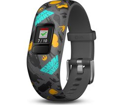 GARMIN vivofit jr. 2 Kid's Activity Tracker - The Resistance, Adjustable Band