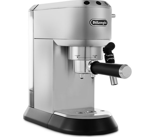Buy DELONGHI Dedica EC685M Coffee Machine - Silver | Free ...