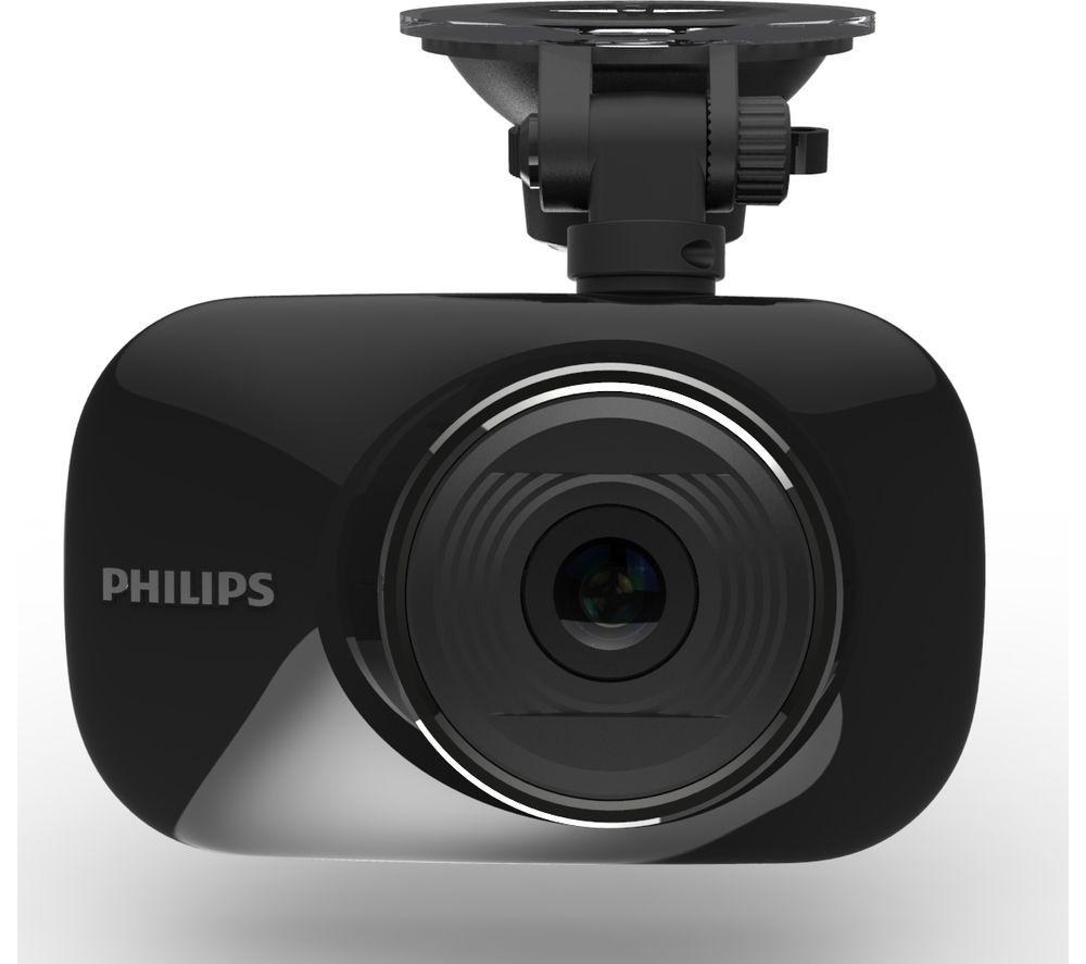 PHILIPS GoSure ADR820 Dash Cam - Black + Ultra Performance Class 10 microSDHC Memory Card - 32 GB