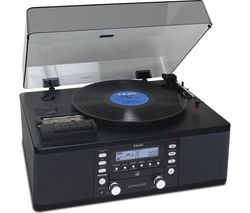 TEAC LP-R550A Belt Drive Turntable - Black