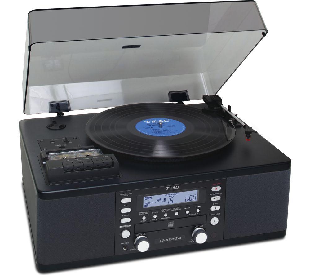 TEAC LP-R550A Turntable specs