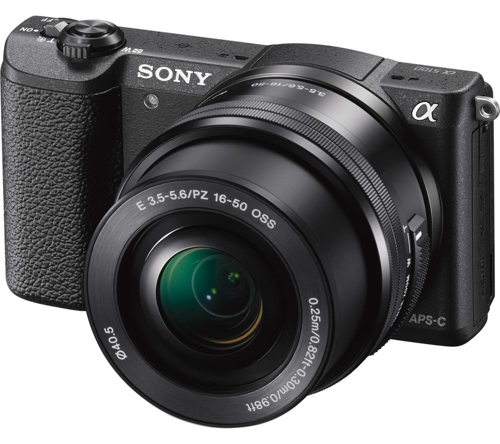 SONY a5100 Mirrorless Camera with 16-50 mm f/3.5-5.6 Lens + E 55-210 mm f/4.5-6.3 OSS Telephoto Zoom Lens