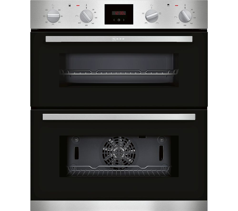 Neff J1hcc0an0b Electric Built Under Double Oven Stainless Steel