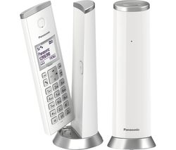 PANASONIC KX-TGK222 Cordless Phone - Twin Handsets
