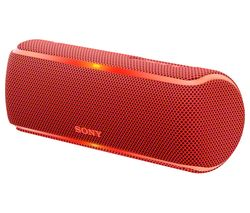 SONY SRS-XB21 Portable Bluetooth Wireless Speaker - Red