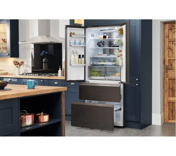 Buy Haier Hb18fgsaaa Fridge Freezer Stainless Steel
