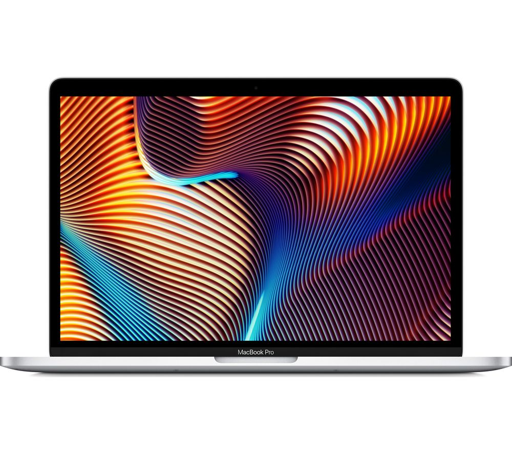 "Image of Apple MacBook Pro 13"" with Touch Bar - 512 GB, Silver (2019), Silver"