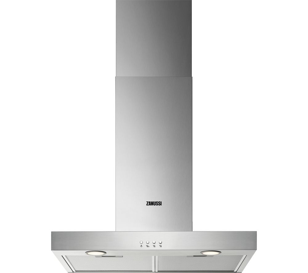 ZANUSSI ZHB62670XA Chimney Cooker Hood – Stainless Steel, Stainless Steel