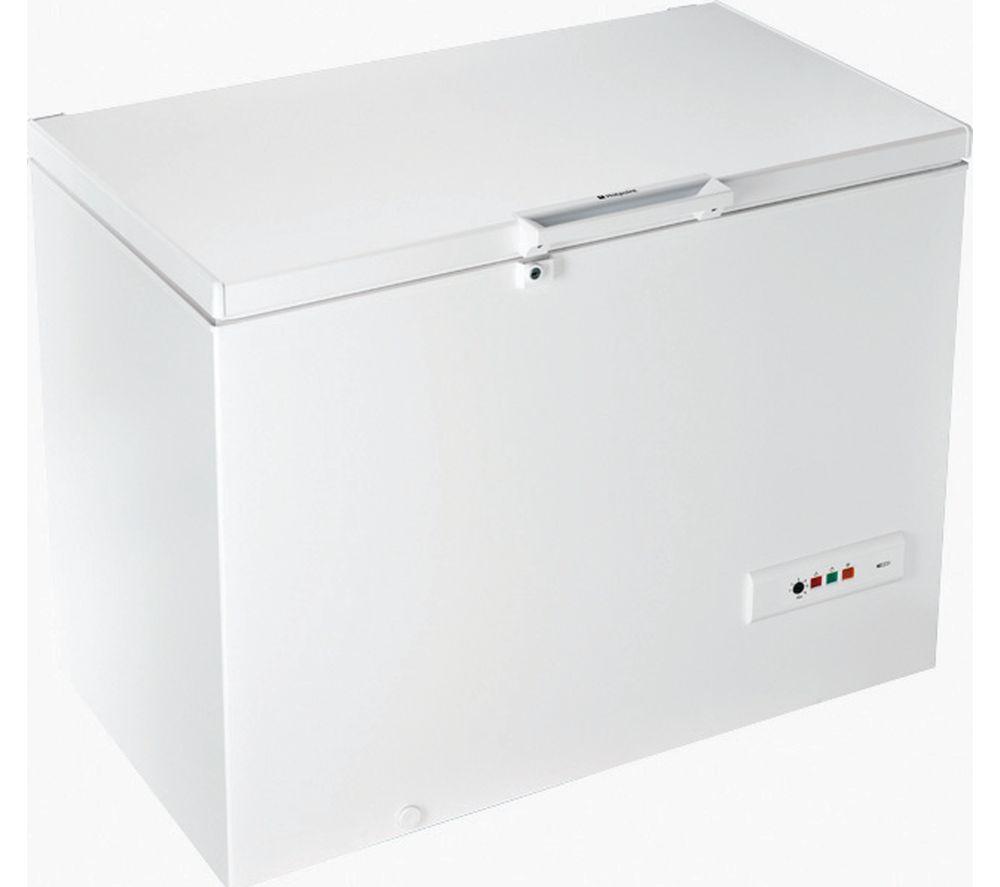 HOTPOINT CS1A 300 H FA Chest Freezer - White