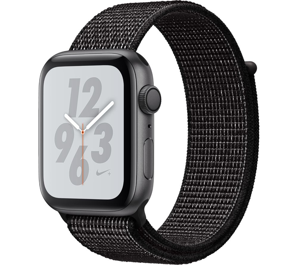 Buy APPLE Watch Series 4 Nike+ - Space Grey & Black Sports