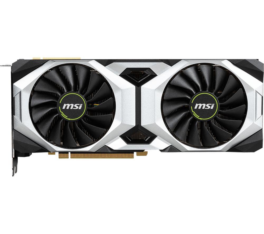 MSI GeForce RTX 2080 8 GB VENTUS OC Graphics Card