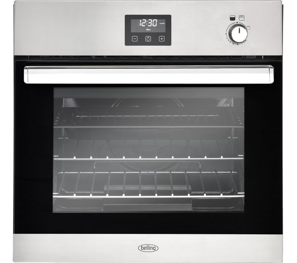 Image of BELLING BI602G Gas Oven - Stainless Steel