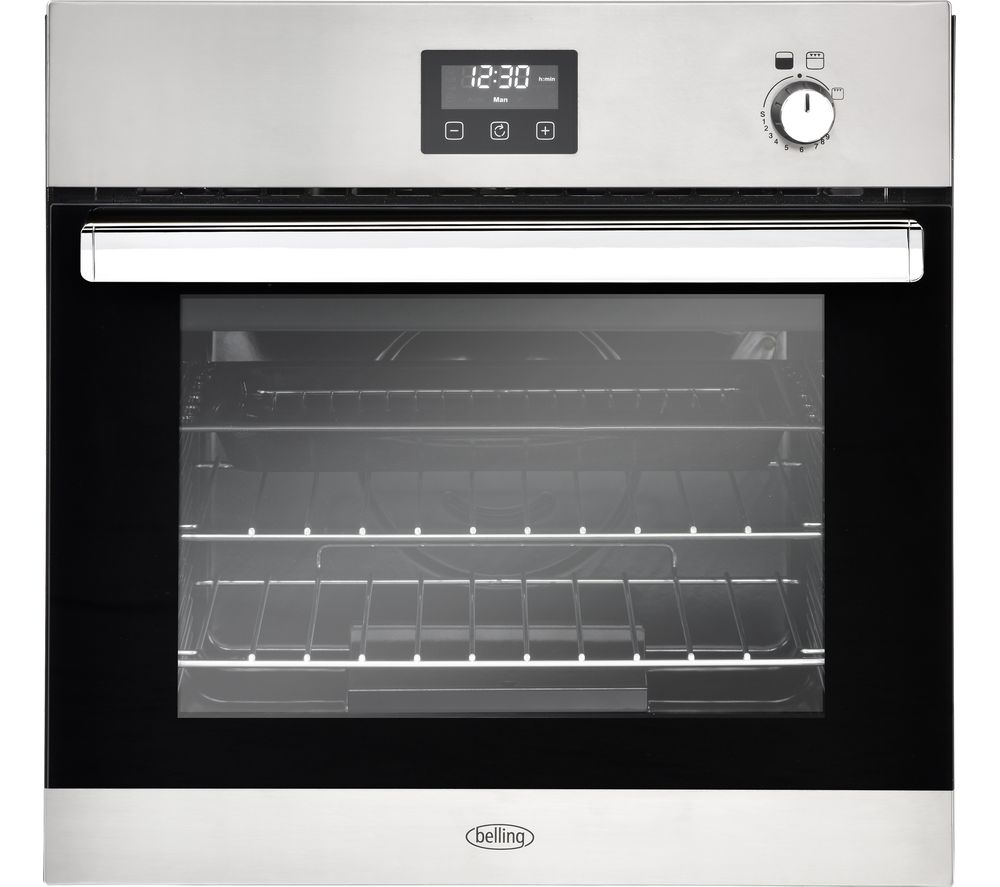 Image of BELLING BI602G Gas Oven - Stainless Steel, Stainless Steel