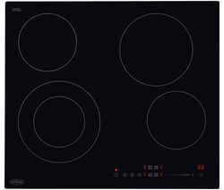 CH602T Electric Ceramic Hob - Black