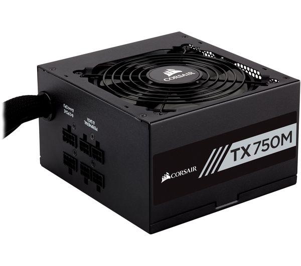 Image of CORSAIR TX750M Semi-Modular ATX PSU - 750 W