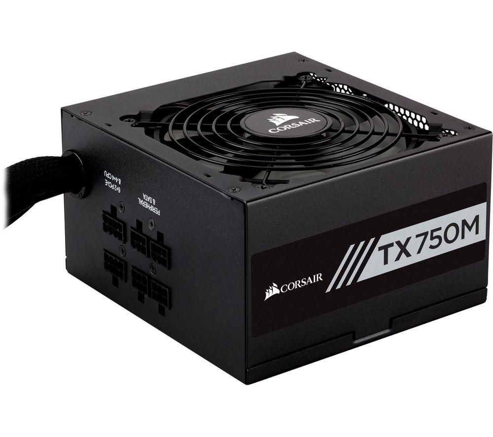 CORSAIR TX750M Semi-Modular ATX PSU - 750 W