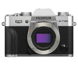 X-T30 Mirrorless Camera - Body Only, Silver