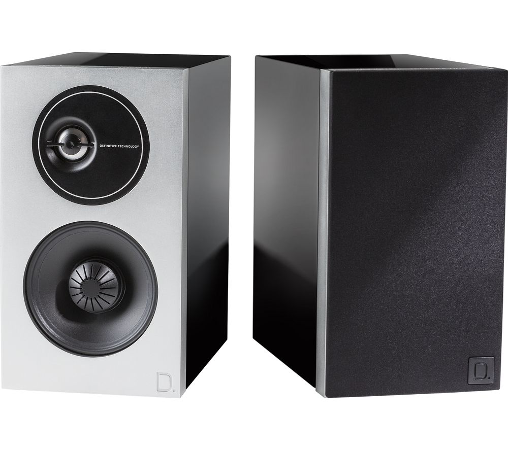 DEFINITIVE TECH Demand D7 Bookshelf Speakers - Black