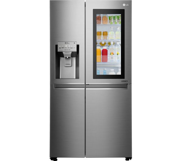 Image of LG GSX960NSVZ American-Style Smart Fridge Freezer - Premium Steel