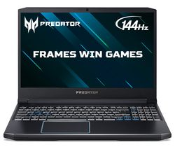 "ACER Predator Helios 300 15.6"" Gaming Laptop - Intel® Core™ i5, GTX 1660 Ti, 1 TB HDD & 256 GB SSD"