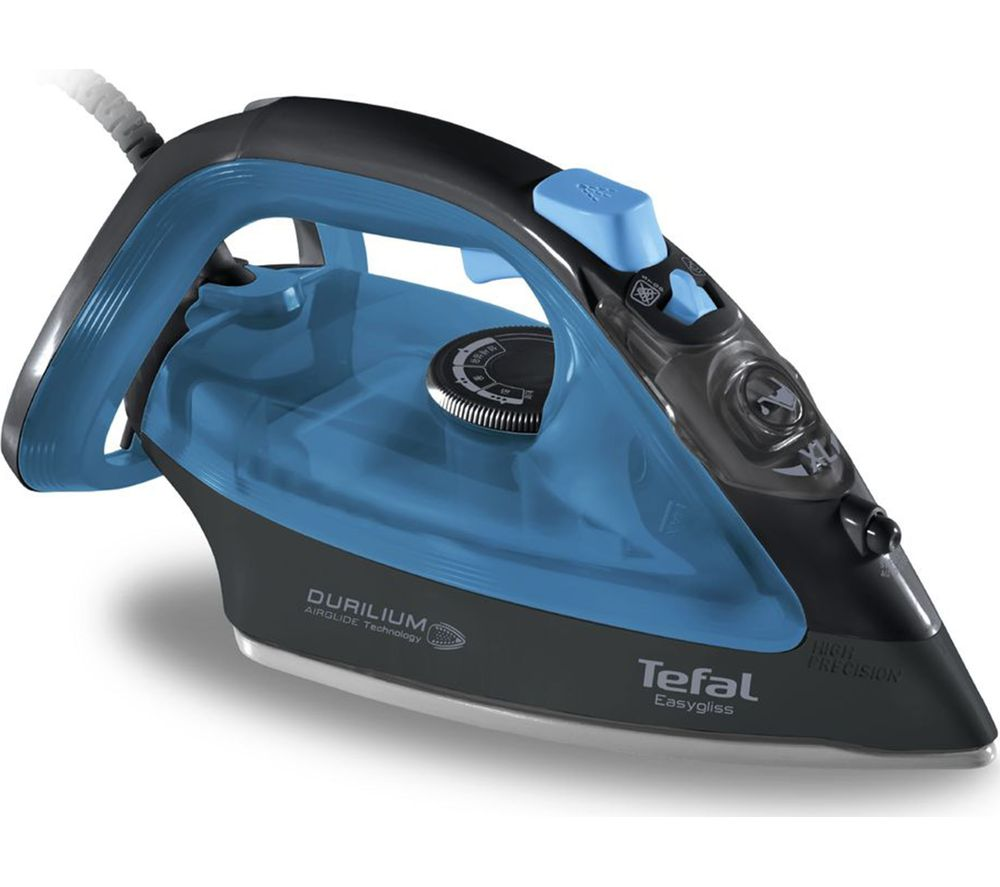 TEFAL Ultraglide FV4093 Steam Iron - Blue & Black