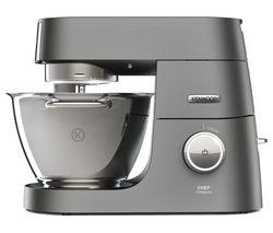 KENWOOD Chef Titanium KVC7300S Stand Mixer - Silver