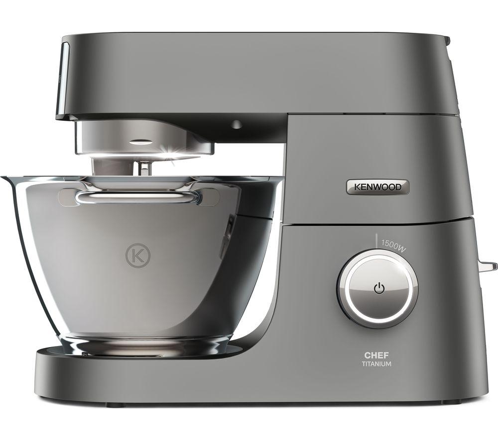 Image of Chef Titanium KVC7300S Stand Mixer - Silver, Titanium