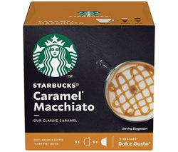 Dolce Gusto Caramel Macchiato Coffee Pods - Pack of 12