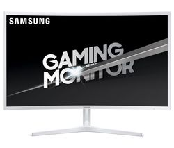 "SAMSUNG LC32JG51 Full HD 32"" Curved LED Gaming Monitor – White"