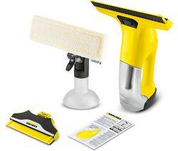 WV 6 Premium Window Vacuum Cleaner - Yellow