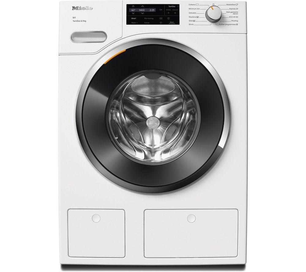 MIELE W1 TwinDos WWG 660 WCS WiFi-enabled 9 kg 1400 Spin Washing Machine - White