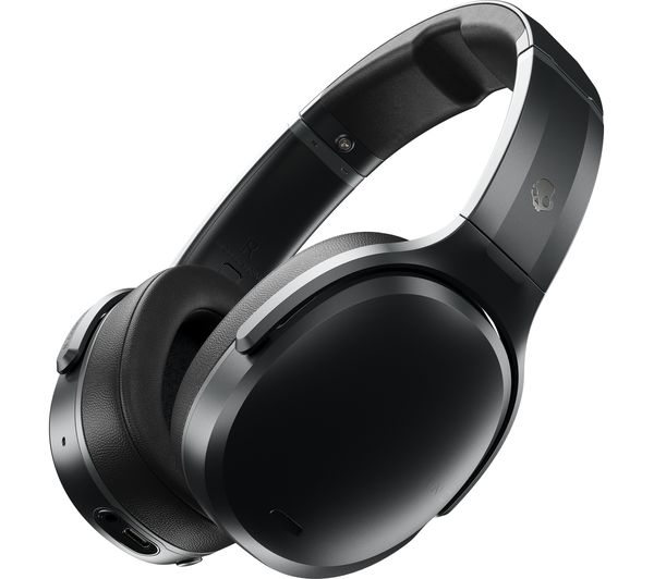 Image of SKULLCANDY Crusher ANC Wireless Bluetooth Noise-Cancelling Headphones - Black