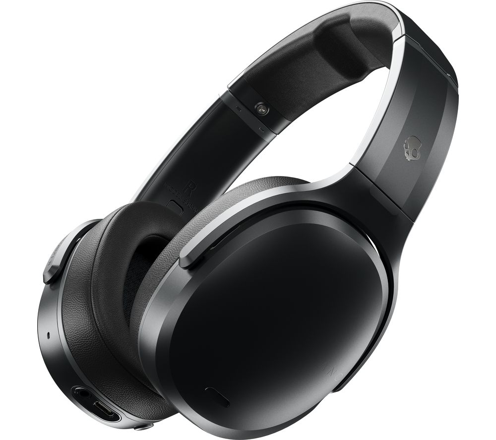 Image of Crusher ANC Wireless Bluetooth Noise-Cancelling Headphones - Black, Black