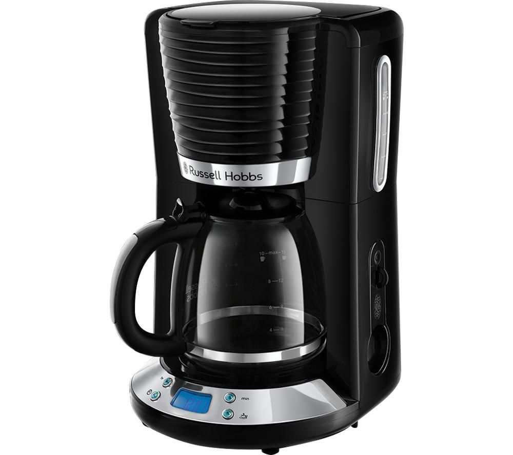RUSSELL HOBBS Inspire 24391 Filter Coffee Maker - Black, Black