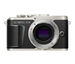 PEN E-PL9 Mirrorless Camera with 32 GB SD Card - Black, Body Only