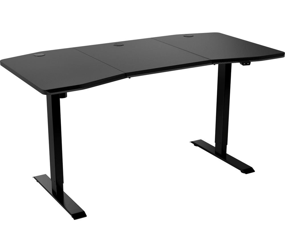 NITRO CONC D16E Carbon Gaming Desk – Black