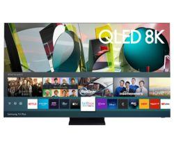 "SAMSUNG QE85Q950TSTXXU 85"" Smart 8K HDR QLED TV with Bixby, Alexa & Google Assistant"