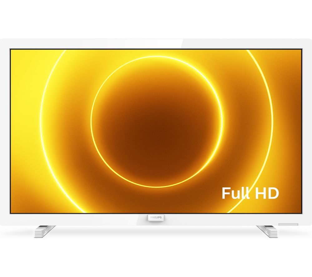 24 PHILIPS� 24PFS5535/12  Full HD LED TV - White, White