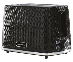 Argyle Collection SDA1774 2-Slice Toaster - Black