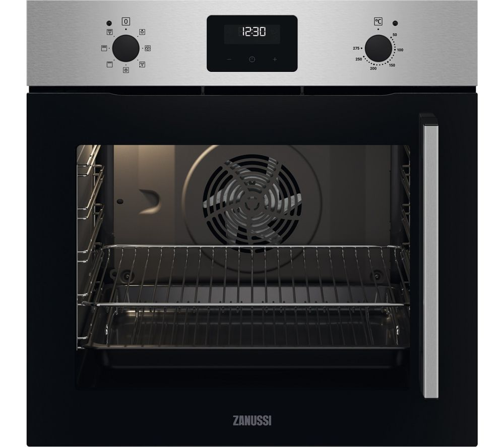 ZANUSSI FanCook ZOCNX3XL Electric Oven - Stainless Steel