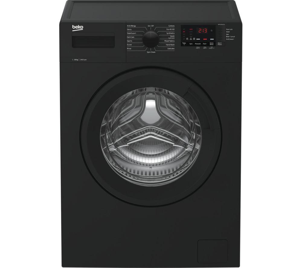 BEKO WTK104121A 10 kg 1400 Spin Washing Machine - Anthracite